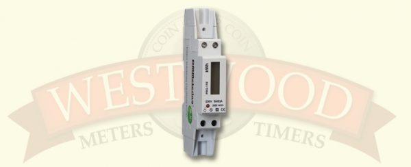 DDS353 Single Phase DIN rail 1 module meter