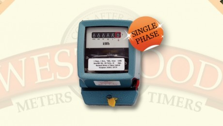 Single Phase Electro-Mechanical Meter