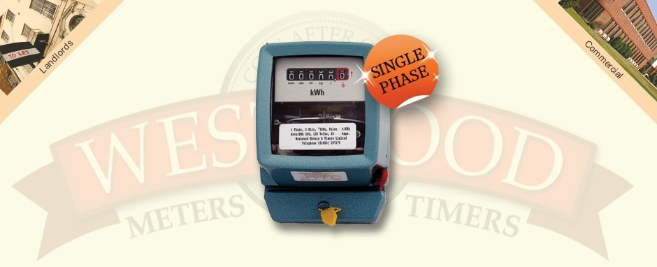 Single Phase Meter Mechanical : Single phase electro mechanical meter westwood meters