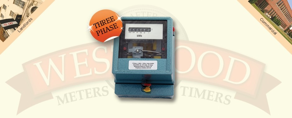 Three Phase Electricity Meter Mechanical : Phase electro mechanical meter westwood meters and timers