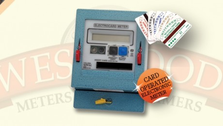 Reconditioned Card Operated Meter