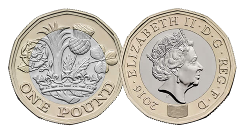 Changing Electric Meters to accept the new one pound coin