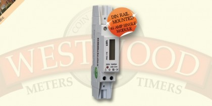 DDS353 Single Phase DIN rail 1 module meter