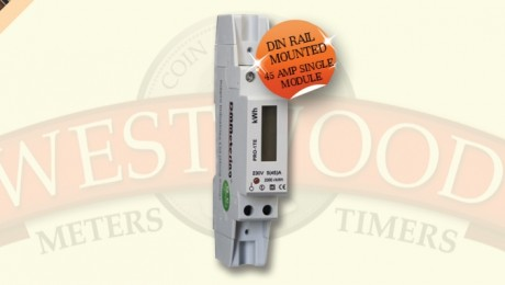 Single Phase DIN Rail 1 Module Meter