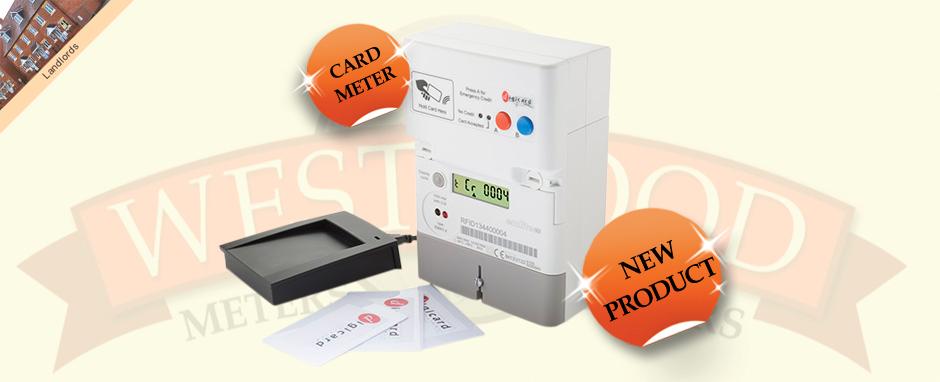 RFID Prepayment card electricity meter